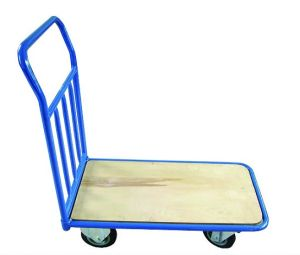 Platform Hand Truck / wooden Deck---250kg pictures & photos