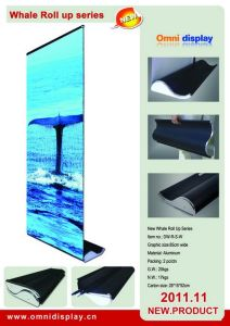 Display Stand Single Side Roll up (DW-R-S-W) pictures & photos