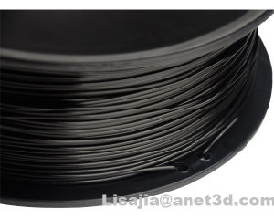1.75mm Black PLA 3D Printer Filament - 1kg Spool (2.2 lbs) pictures & photos