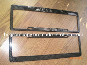 Carbon Fiber Car License Plate Frame