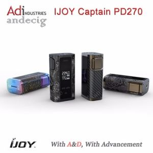 Big Size Screen 6000mAh 234W Box Mod Ijoy Captain Pd270 Box Mod pictures & photos