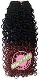 100% Human Hair, Jerry Curl Weaving 16inch