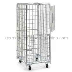 Four Sides Top Security Roll Cage Container pictures & photos