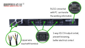 Static Transfer Switch for UPS (Lsts-16A/25A/32A 6.6kw AC) pictures & photos