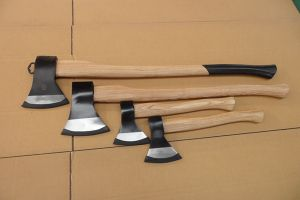 Axe with Wooden Handle pictures & photos