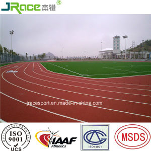 Factory Direct Sale Synthetic Running Track in Guangdong pictures & photos