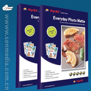 108GSM A4 Heavy Coated Matte Inkjet Paper pictures & photos