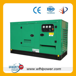 Cummins Silent Diesel Generator 20kw-1000kw, Low Noise pictures & photos
