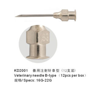 Kd402 Veterinary Needles 14G-22g 1/2-2 pictures & photos