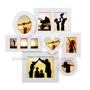 LED Plastic Multi Openning Promotion Gift Collage Decorative Picture Frame pictures & photos