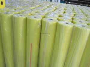 Self Adhesive Fiberglass Mesh Fabric, Fiberglass Adhesive Netting pictures & photos