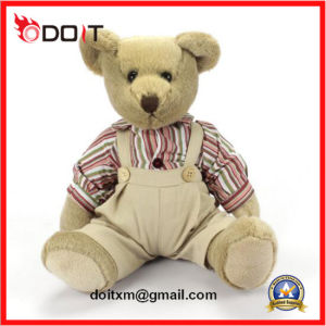 Customized High Quality Vintage Teddy Bear with Embodiary Logo pictures & photos