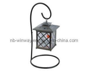 Ce Approved Aluminum Solar Hanging LED Lamp Light pictures & photos