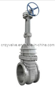 Low Temperature Gate Valve with Worm Opreated Gate Valve pictures & photos