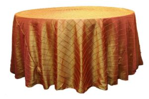 Pintuck Taffeta Table Cloth, Tablecloth (Selina - 009)