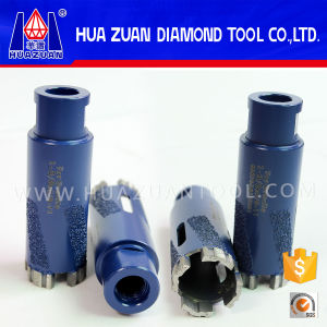 Blue Diamond Vacuum Brazed Core Drill Bit for Granite Marble pictures & photos