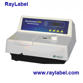 UV-Vis Spectrophotometer for Analysis Instrument (RAY-752S) pictures & photos