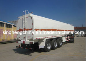 20m3 30m3 3 Axles Sinotruk HOWO Oil / Fuel Tank Truck Trailer Sty9400gjy pictures & photos