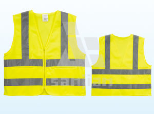 Jy-7006 Adults Customized Flashing Glow Safety Vest pictures & photos