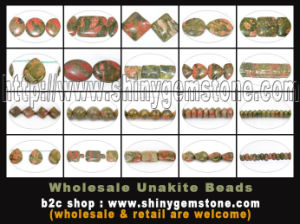 Unakite Beads Gemstone Jewelry
