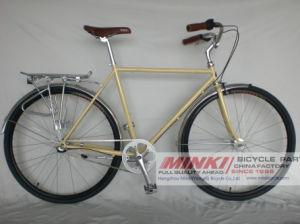 700 C Mens Retro Vintage City Bicycle 3 Speed Fixie Bike pictures & photos