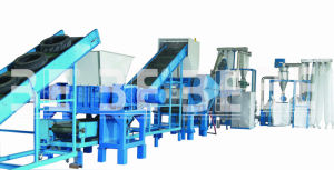 Tire Recycle Plant (300-10000kg/hr) /Waste Tire Recycling Machine pictures & photos