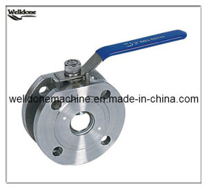 2016 Wafer Type Stainless Steel Ball Valve