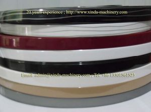 PP ABS Luxury Edge Banding Extrusion Line pictures & photos