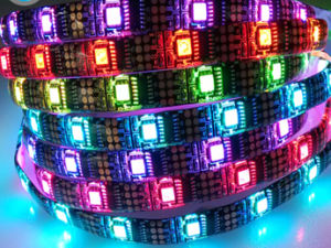 IP67 IC2801 5m Dream Color LED Light Strips pictures & photos