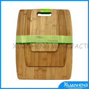 High Quality Bamboo Cutting Board with End Grain pictures & photos