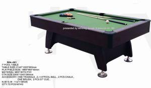 7 Foot Pool Table (G-10)