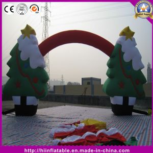 Hot Christmas Decoration Inflatable Tree Arch