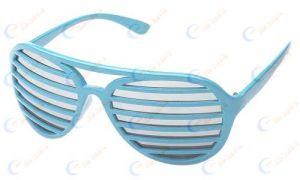 Hottest Mirrored Lenses Shutter Shades Sunglasses (03171)