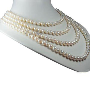 4 Strands Pearl Necklace (E1355) pictures & photos