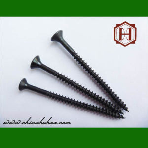 Screw/Black Phosphated Csk Head Chipboard Screw pictures & photos