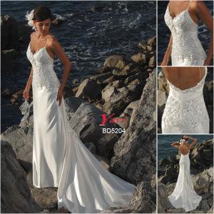 Bridal Wedding Dress, Beach Wedding Dress (BD5204)