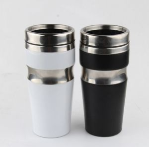 Stainless Steel Travel Mug Vacuum Flask, Flip Top Sipper Lid pictures & photos