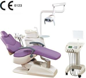 Osa-208q1 New LED Dental Unit with Moving Cart pictures & photos