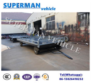 5t Utility Cargo Transport Drawbar Full Trailer for Sale pictures & photos
