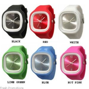 Different Color Silicone Rubber Watch pictures & photos