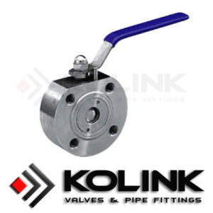 Wafer Ball Valve, Forges Steel Ball Valve, Thin Type