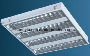 T5 Grid Lamp 4*14W, V-Shape pictures & photos