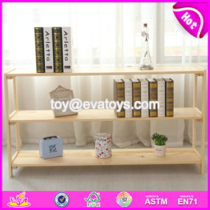 High Quality Household Wooden Standing Shelves for Wholesale W08c231 pictures & photos