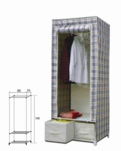 Non-Woven Portable Storage Wardrobe