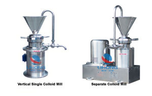 Stainless Steel Colloidal Mill for Mixing Powder and Liquid pictures & photos
