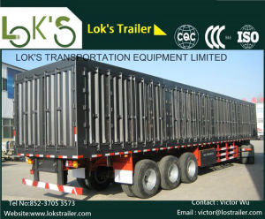 40 Feet Hight Wall Semi - Trailer pictures & photos