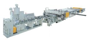 PP PE Hollowness Grid Board Panel Production Extrusion Line pictures & photos