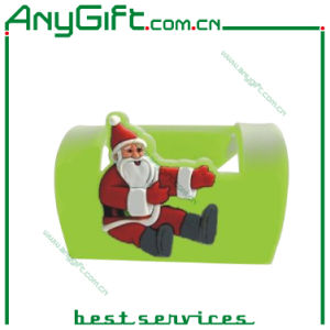 PVC Christmas Phone Stand with Customized Logo pictures & photos