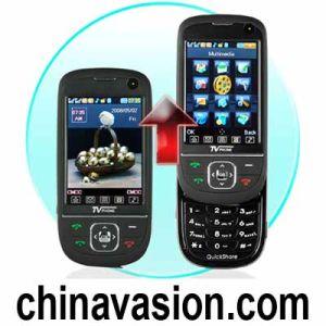 QuickSlide Mobile Phone - Quad Band + Dual SIM + TV + Bluetooth