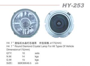 "7""Round Crystal BMC Lamp (HY-253)"